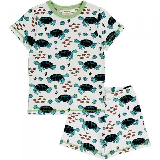 Meyadey Turtle Tide SS Pyjama Set