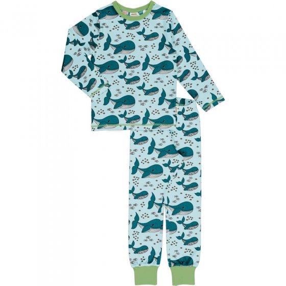 Meyadey Whale Waters LS Pyjama Set