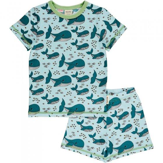 Meyadey Whale Waters SS Pyjama Set