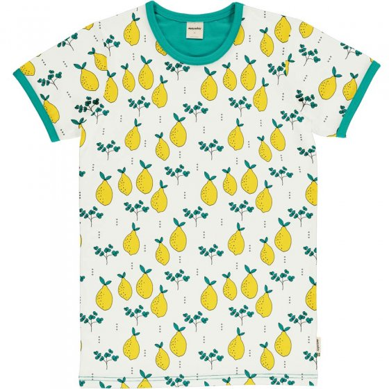 Meyadey Adult Men's Leafy Lemon SS Top