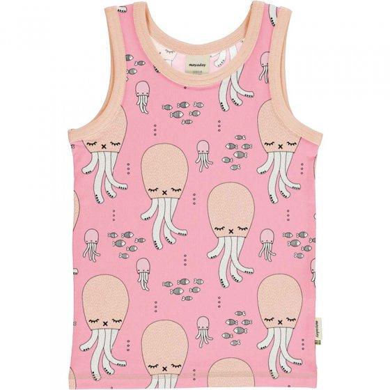 Meyadey Cute Squid Tank Top