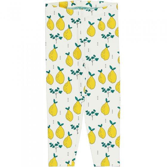 Meyadey Leafy Lemon Cropped Leggings