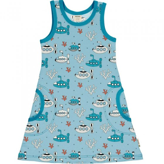 Meyadey Submarine Waters Sleeveless Dress