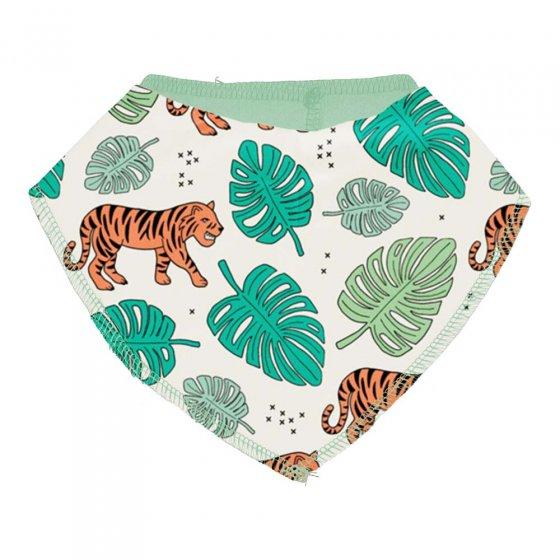 Meyadey Tiger Jungle Dribble Bib