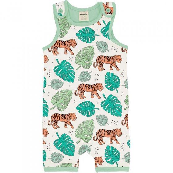 Meyadey Tiger Jungle Short Dungarees