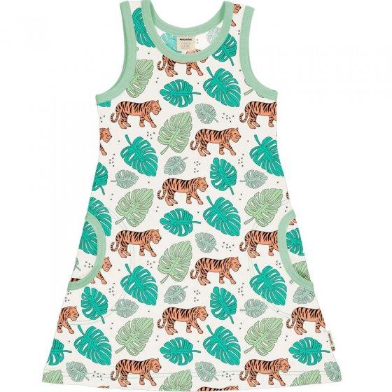 Meyadey Tiger Jungle Sleeveless Dress
