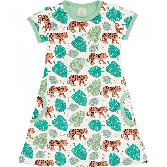 Meyadey Tiger Jungle SS Dress