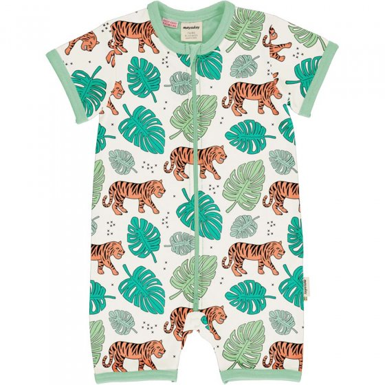 Meyadey Tiger Jungle SS Romper Suit