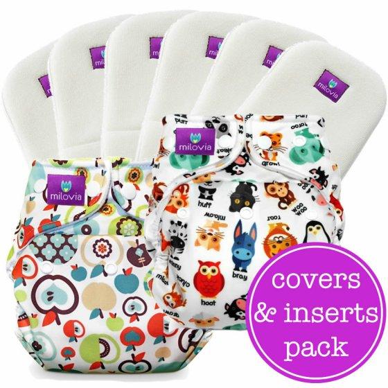Milovia One Size Cover Mini Pack