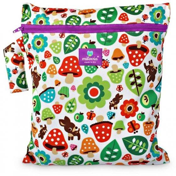 Milovia Nappy Wet Bags-Toadstool