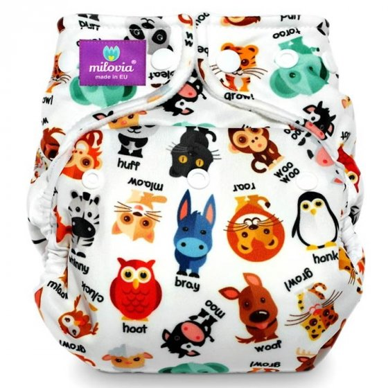 Milovia Noisy Animals One-Size Cover