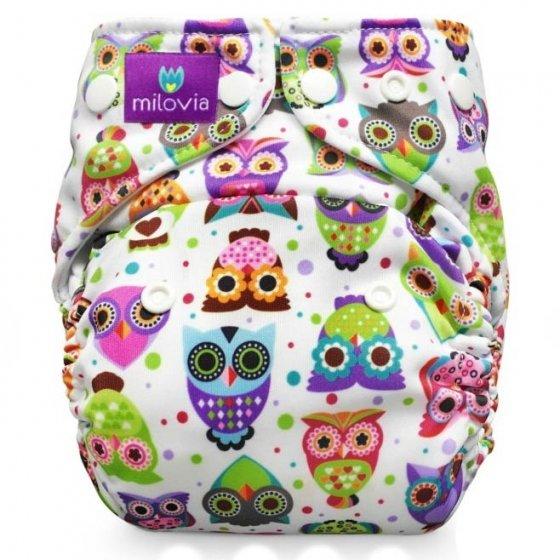 Milovia Pocket Nappies-lovely owls