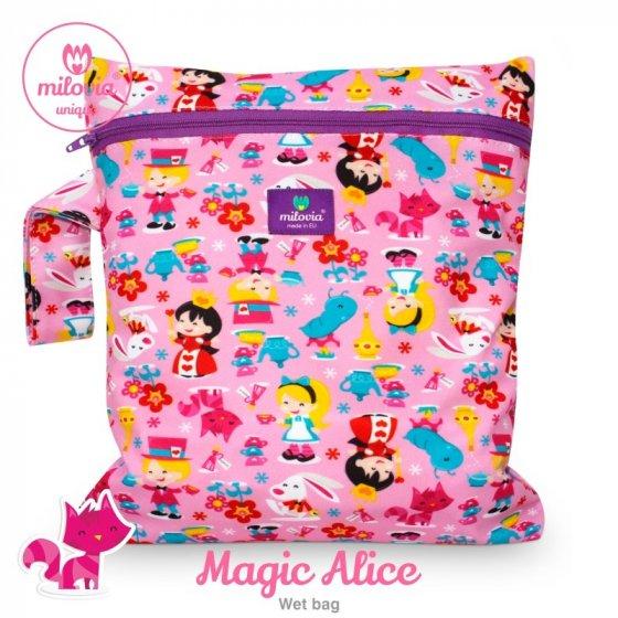 Milovia Nappy Wet Bags-Magic Alice