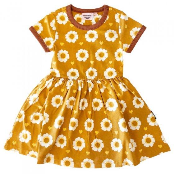 Moromini 70's Flower SS Twirly Dress
