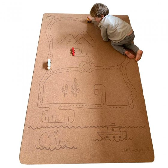 Pure Earth Large Rocky Road Natural Play Mat