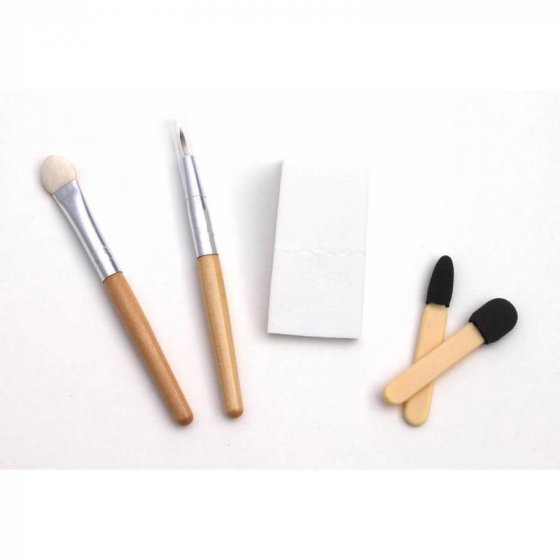 Natural Earth Paint Ecological Make-Up Brushes - Set Of 5