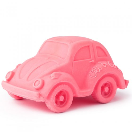 Oli & Carol Small Beetle Car - Pink