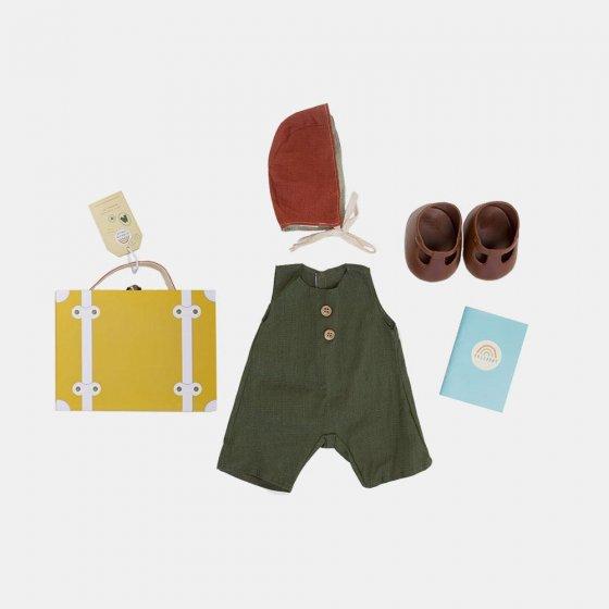 Olli Ella Dinkum Doll Travel Toggs - Mustard