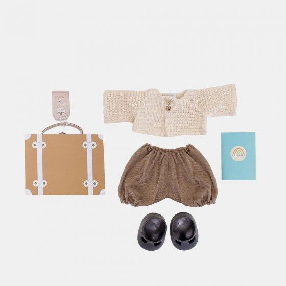 Olli Ella Dinkum Doll Travel Toggs - Rust