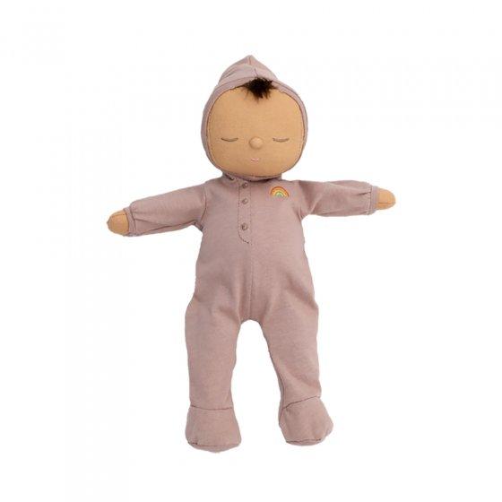 Olli Ella eco-friendly Dozy Dinkum doll Pip in a neutral position on a white background