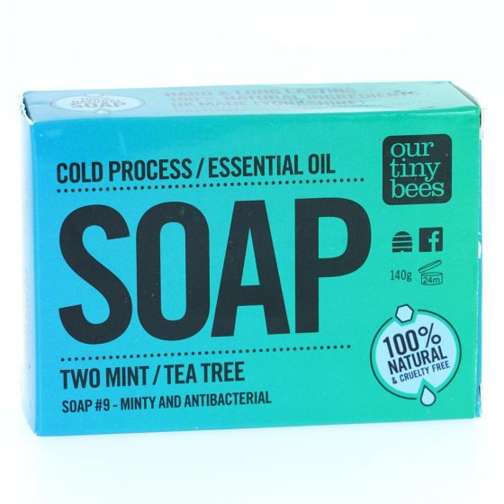 Our Tiny Bees Cold Pressed Tea Tree Soap