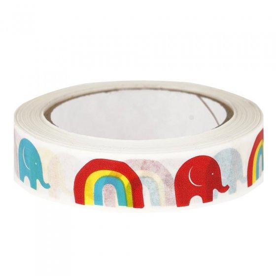 Babipur Elephant Rainbow Paper Tape