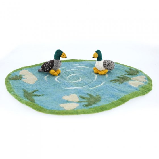 Papoose Toys Duckpond Mat With Ducks