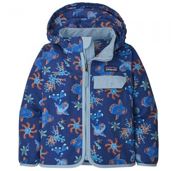 Patagonia Baby Baggies Jacket Mola Mola - Superior Blue