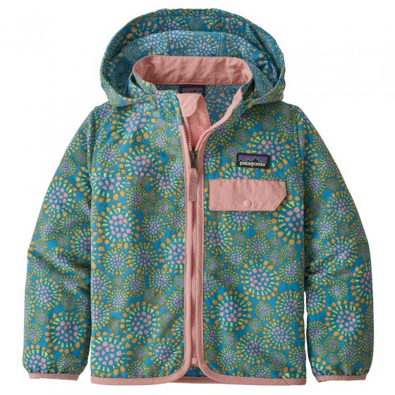 Picture of the baby baggie jacket front view. Picture background is white.