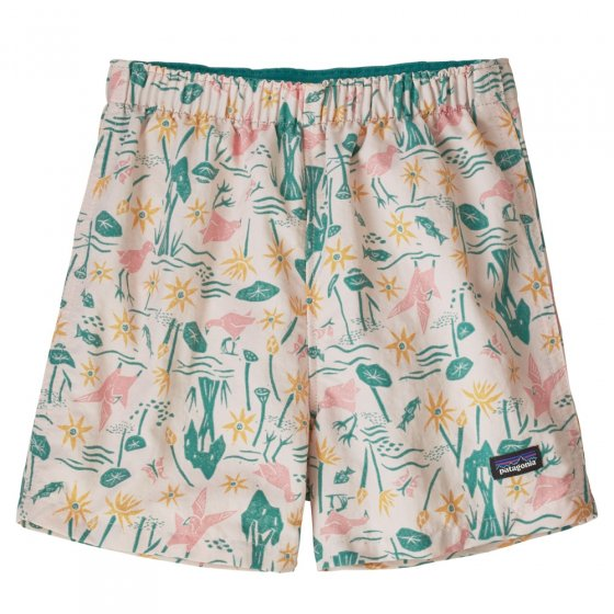 Patagonia Baby Baggies Shorts - Birds In The Lotus Prima Pink