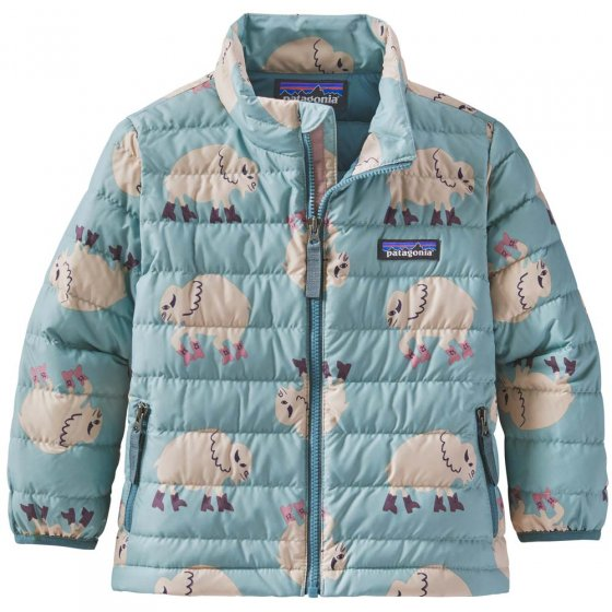 Patagonia Baby Down Sweater Let's Regenerate: Gypsum Green