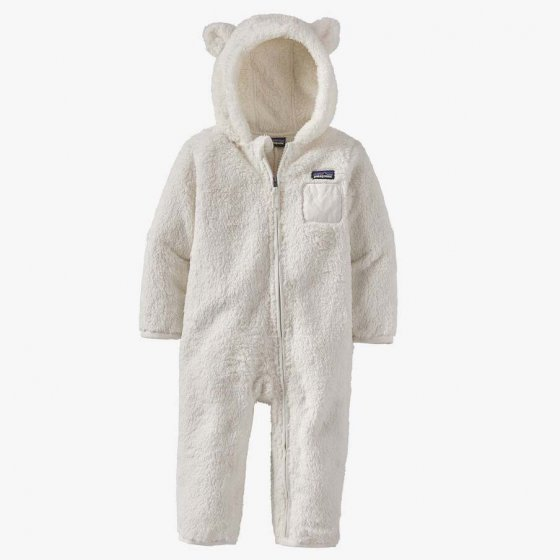 Patagonia Little Kids Furry Friends Birch White Bunting