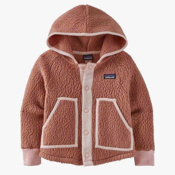 Patagonia Little Kids Retro Pile Jacket - Anthos Pink