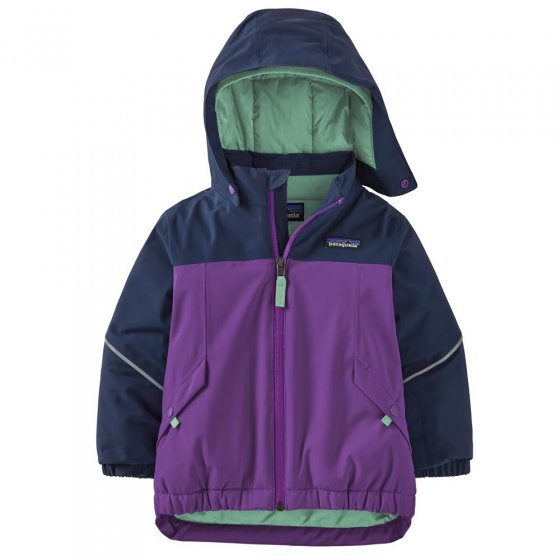 Patagonia Baby Snow Pile Jacket Purple