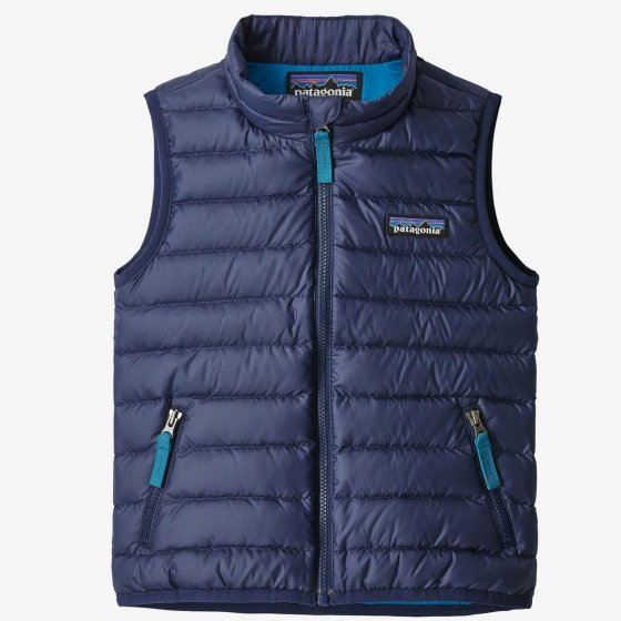 Patagonia Baby Down Sweater Vest Classic Navy