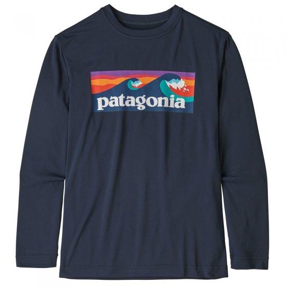 Patagonia Cap Cool Daily LS T-Shirt - Boardshort Logo