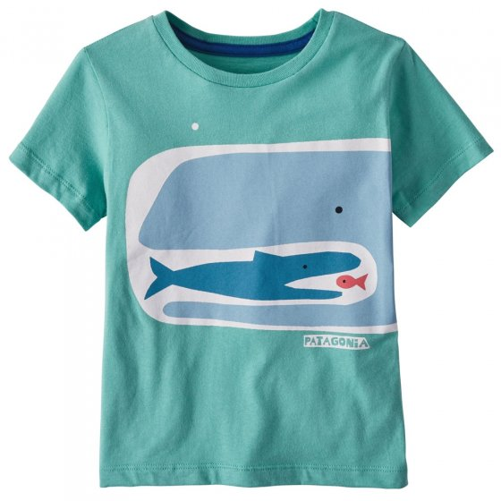 Patagonia Baby Fishy Food Chain Graphic T-Shirt