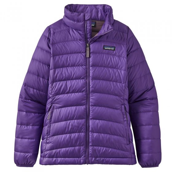 Patagonia Fitted Down Sweater Purple