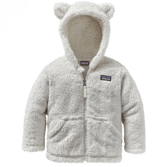 Patagonia Baby Furry Friends Hoody - Birch White