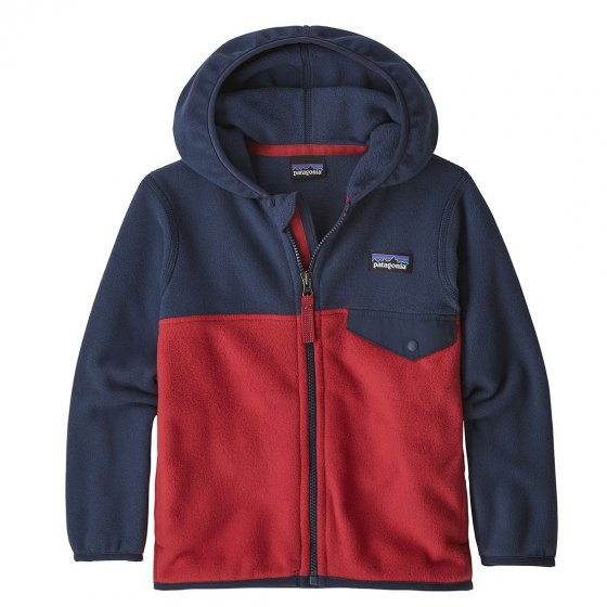 Patagonia Baby Micro D Snap-T Jacket Fire New Navy