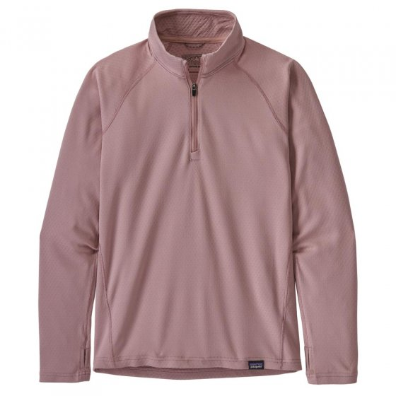 Patagonia K's Cap MW Zip Neck Top Hazy Purple