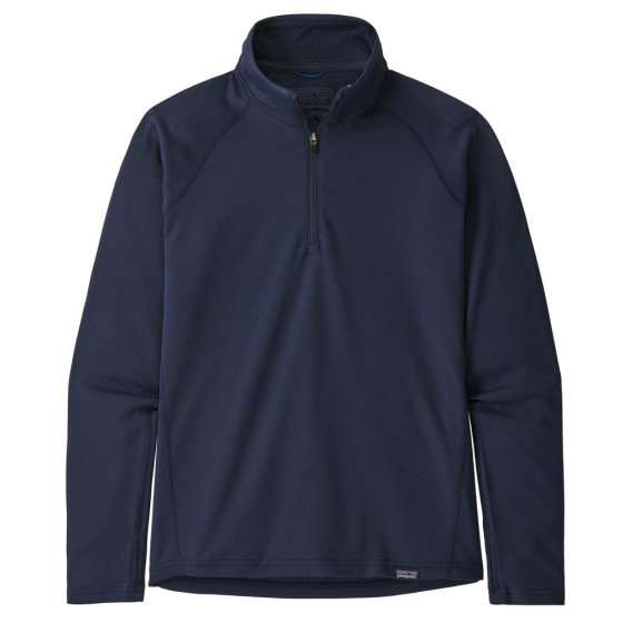 Patagonia K's Cap MW Zip Neck Top New Navy