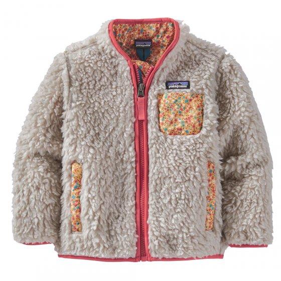 Patagonia Baby Retro-X Natural Catalan Coral Jacket