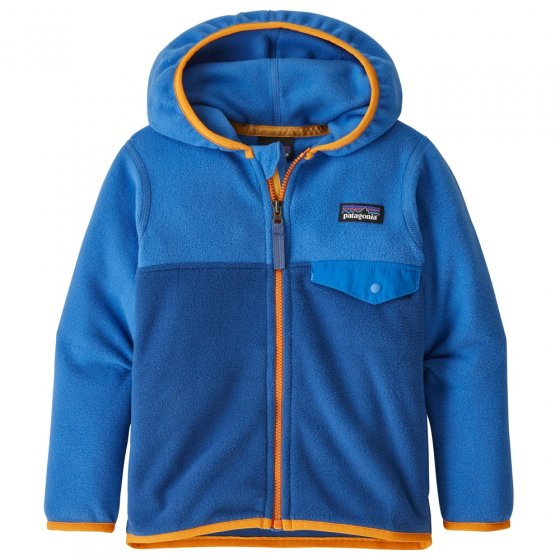 Patagonia Baby Micro D Snap-T Fleece Jacket - Bayou Blue