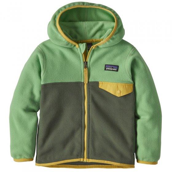 Patagonia Baby Micro D Snap-T Fleece Jacket - Kale Green