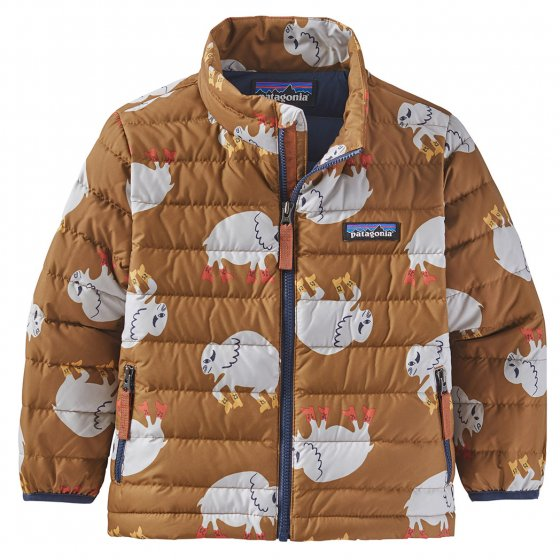 Patagonia Let's Regenerate: Mulch Brown Baby Down Sweater