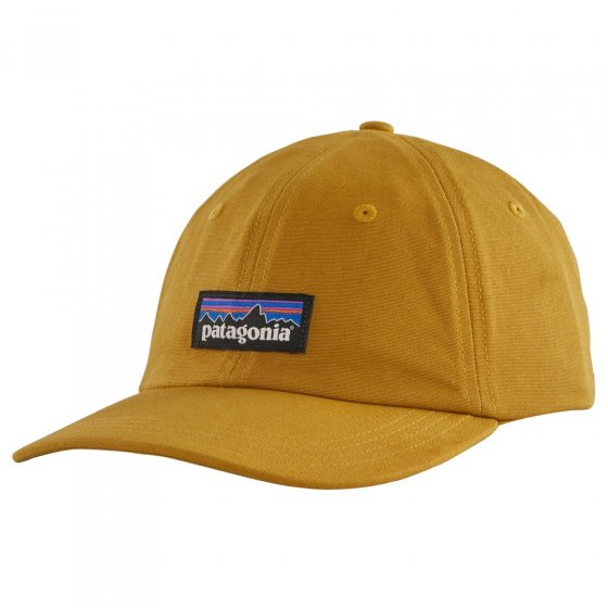 Picture of the gold trad cap (front view). Picture background is white.
