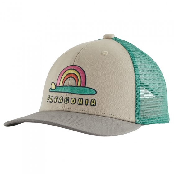 Patagonia Kids Trucker Hat - Single Fin Sunrise