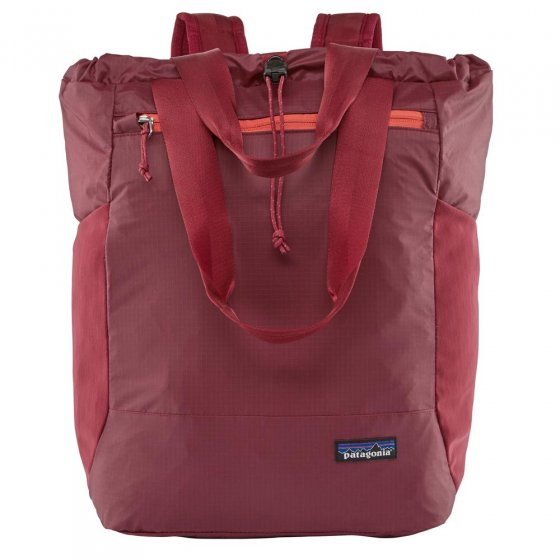 Picture of Patagonia Arbor classic bag in red. Picture has a white background.