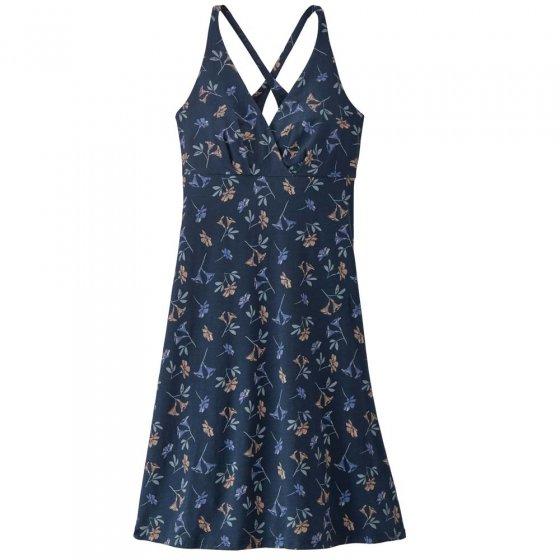 Patagonia W's Amber Dawn Dress Quito Multi: Tidepool Blue